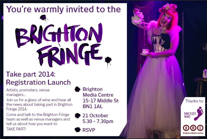 Brighton Fringe 2014 Registration Launch: Image 0