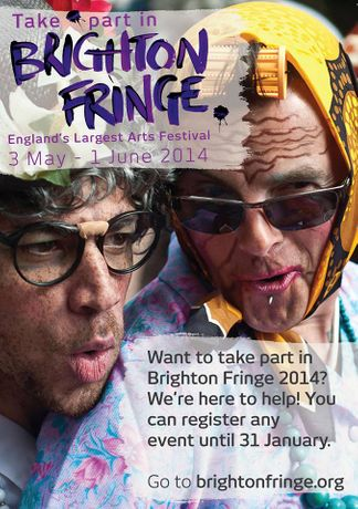 Brighton Fringe - Just 9 days left to register!: Image 0