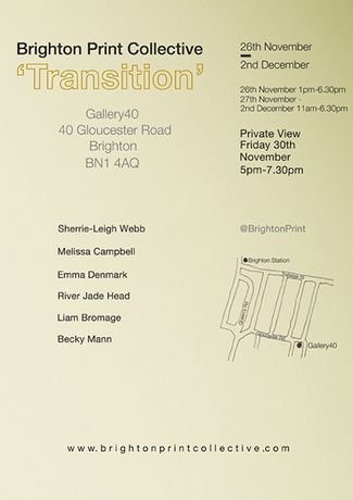 Brighton Print Collective 'Transition': Image 0