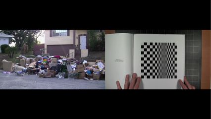 Jean-Paul Kelly, Movement in Squares, 2013, two-channel HD video, colour, sound, 12min 43sec Courtesy The Artist