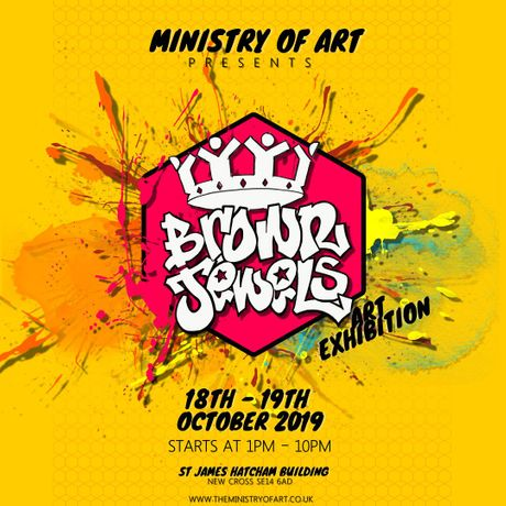 MINISTRY OF ART PRESENTS - BROWN JEWELS!