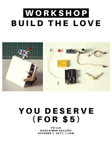 Build The Love You Deserve: Workshop: Image 0