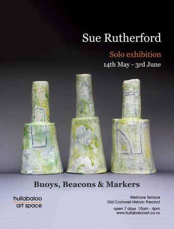 Buoys, Beacons and Markers, new ceramics by Sue Rutherford: Image 0