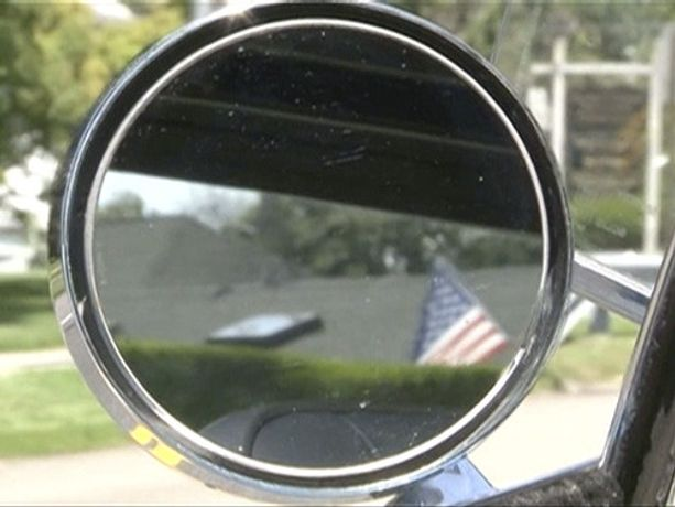 Burt Barr. Rear View Mirror, 2015 Video (color, no audio) 11:58 minutes