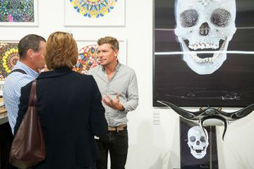 Damien Hirst work sold at the fair