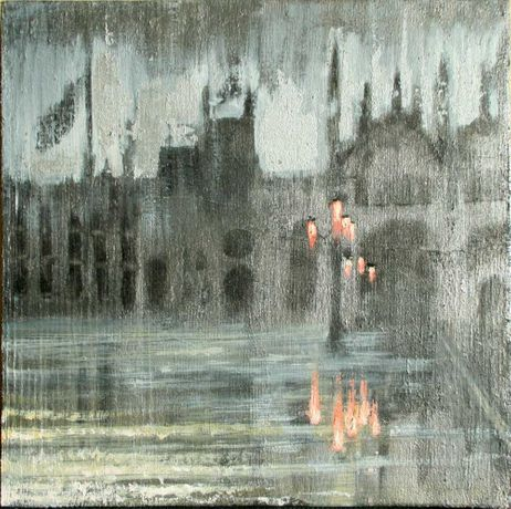 BY THE WATER | Paintings of Istanbul & Venice by Ian Harper: Image 0
