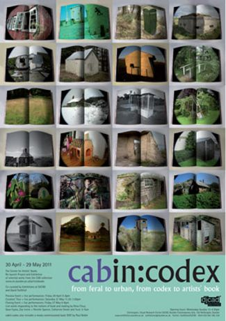 cabin:codex  - The Centre for Artists' Books Re-launch Project: Image 0