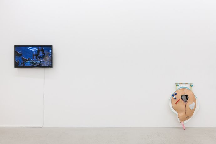 Week 1, Installation view of Yarli Allison 'Cacotopia 02' at Annka Kultys Gallery, London 2018. Photo: Annka Kultys Gallery (Damian Griffiths)