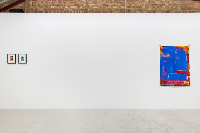 Installation view of Aaron Scheer 'CACOTOPIA 03' at Annka Kultys Gallery, London 2018. Photo: Annka Kultys Gallery (Damian Griffiths)