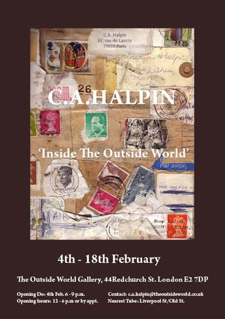 C.A.HALPIN 'Inside The Outside World': Image 0