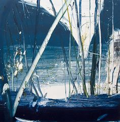 Calum McClure 'Night Garden', monotype.