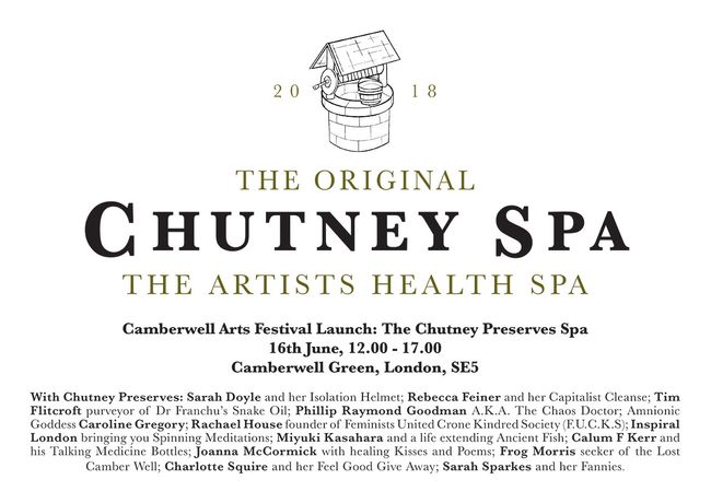 The Chutney Spa invitation