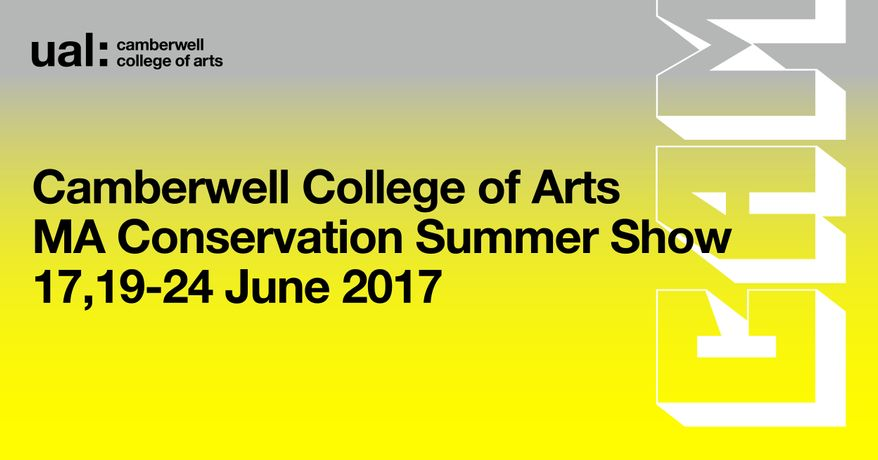 Camberwell College of Arts Undergraduate and MA Conservation Summer Show 2017: Image 2