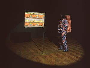 Image: Installation view of the Yinka Shonibare exhibition, Camden Arts Centre, 2000