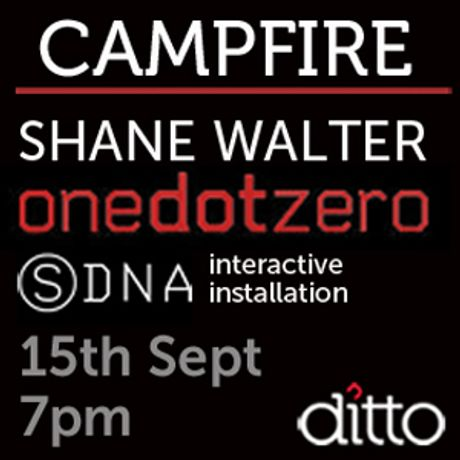 Campfire with Shane Walter from onedotzero talk and exhibition and SDNA installation: Image 0