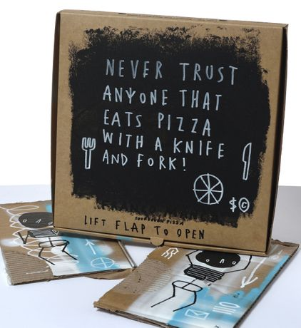 Never Trust by Skeleton Cardboard Photo – Atom Gallery
