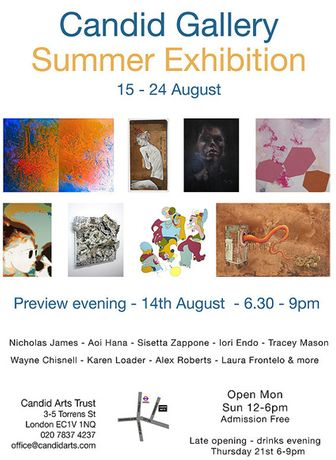 Candid Gallery Summer Exhibition: Image 0
