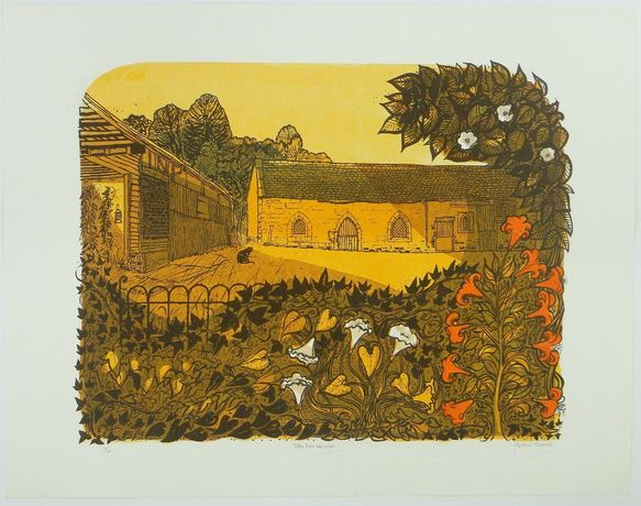 Robert Tavener, Tithe Barn and Lilies
