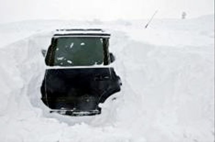 Car Park: 'snowed in' Exhibition: Image 0