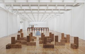 nstallation view, Carl Andre: Sculpture as Place, 1958–2010, Dia:Beacon, Riggio Galleries, Beacon, New York. May 5, 2014–March 2, 2015. Art