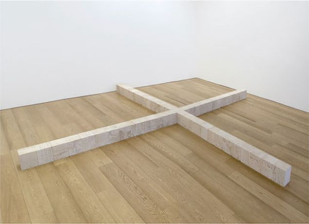 Carl Andre: Travertine / Basalt: Image 0