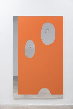 Carlito Carvalhosa Untitled (P59), 2017 oil on aluminium 200 x 122 cm