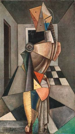 Carlo Carrà, Penelope, 1917, Private Collection