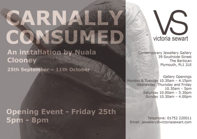 'Carnally Consumed' – Plymouth Art Weekender: Image 1
