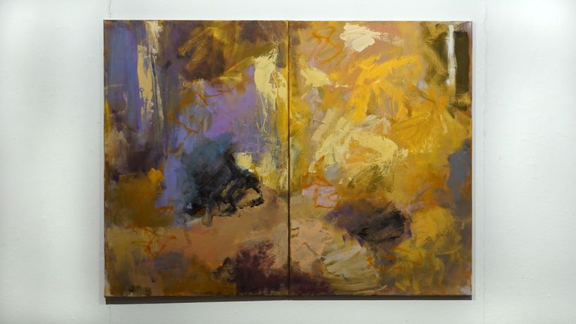 Caroline Hall 'Yosemite 4 (diptych)' Oil on canvas £1,800
