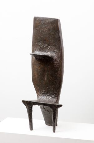 Kenneth Armitage, Sibyl I, 1961, Bronze, Edition of 6, height 115.5 cm (2), Copyright Marlborough Fine Art, Courtesy Marlborough Fine Art