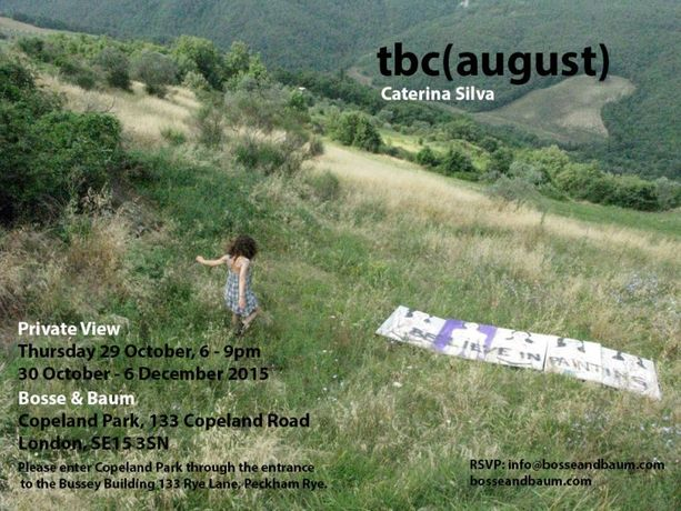 Caterina Silva. tbc (august): Image 0