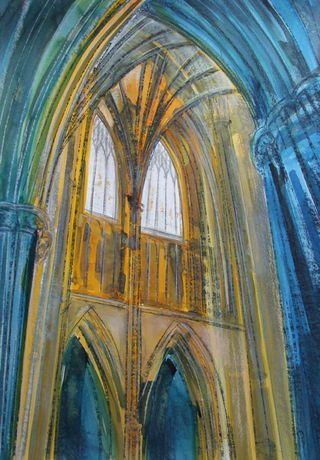 Cathedral Exhibition by Artist Lesley Westrop: Image 0