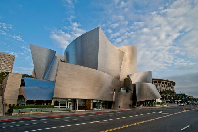 Walt Disney Concert Hall. Courtesy of the Los Angeles Philharmonic Association