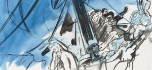 Cecily Brown, Shipwreck drawings, Courtesy Thomas Dane Limited