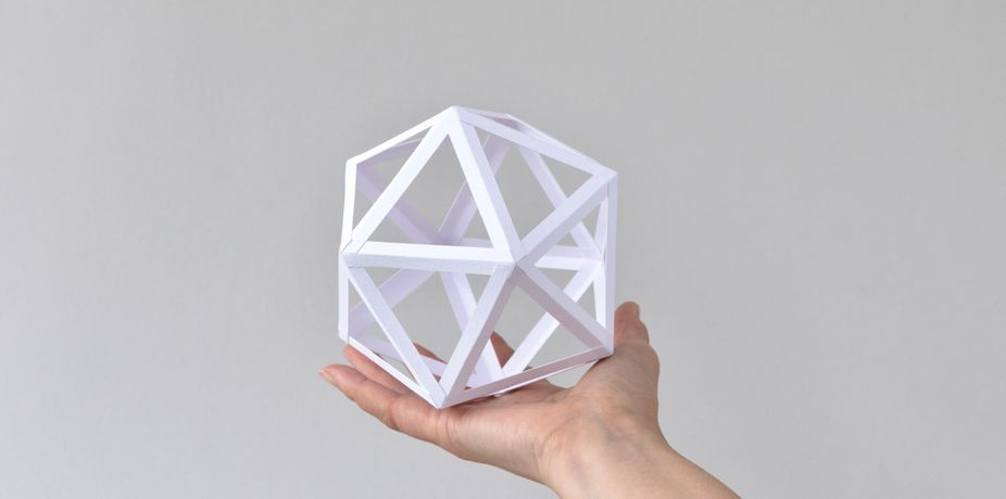 Make your own Paper Polyhedra with Tomoko Azumi at The Geometrist workshops.
