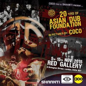 Celebrating 20 years of the iconic Asian Dub Foundation in pictures by Coco
