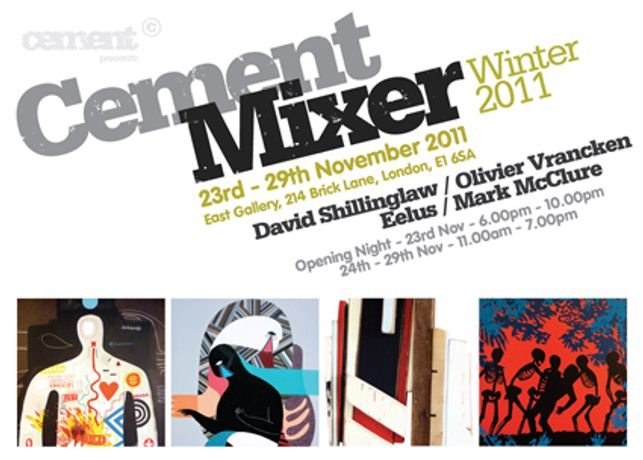 Cement Mixer Group Show : November 2011: Image 0