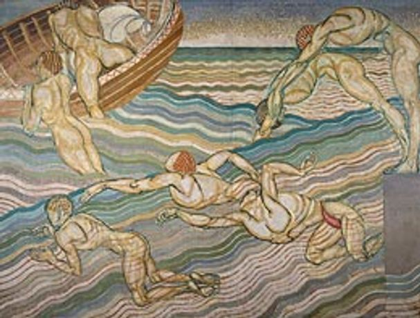Centenary art exhibition of Bloomsbury murals at LSBU: Image 0