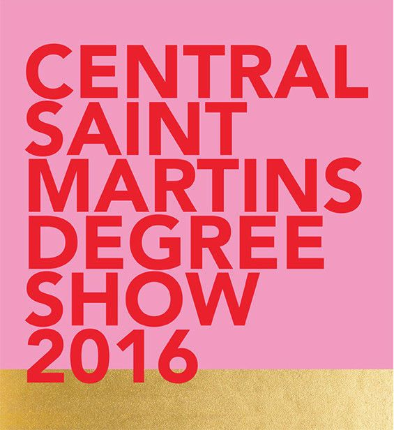 Central St Martins Graphic Design Degree Show