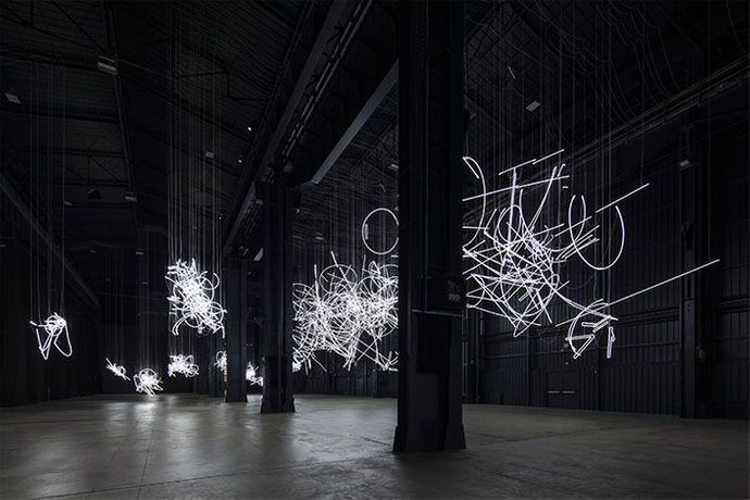 "Cerith Wyn Evans -  ""....the Illuminating Gas"": Image 0"