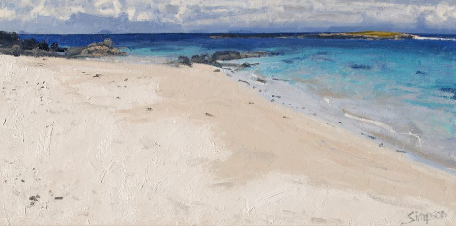 Charles Simpson: New Paintings of the West Coast of Scotland: Image 4