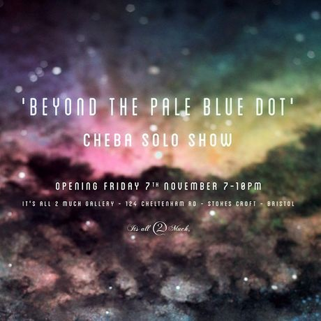 Cheba Solo Show 'Beyond the Pale Blue Dot': Image 0