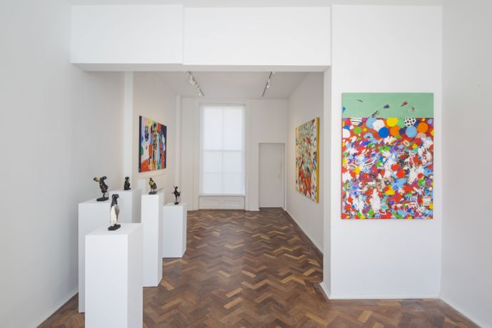 Installation shot of Exhibition in gallery