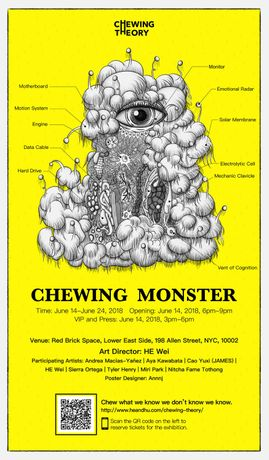 Chewing Monster: An Interactive Experience beyond Instagrammable: Image 3