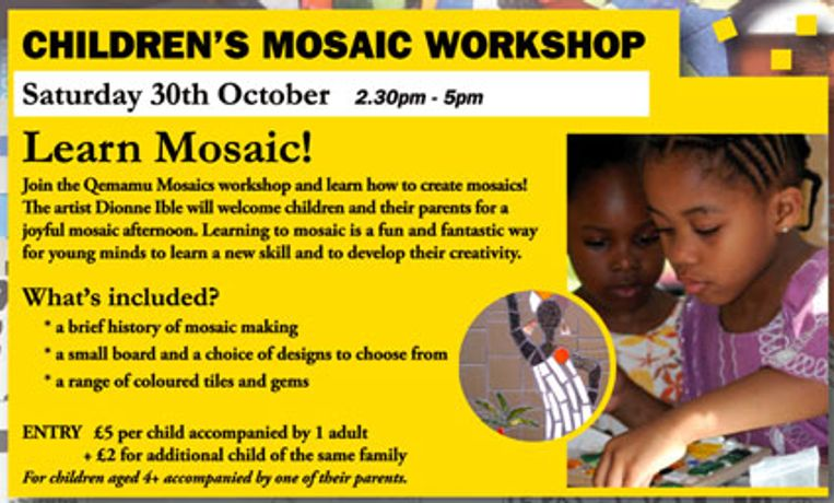Children Mosaic Workshop: Image 0