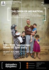 CHILDREN OF NO NATION exhibition 9-13th Sept