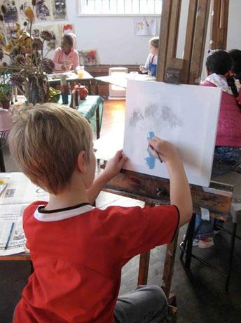 Childrens Free Workshops: Family Day Christmas Art Workshop: Image 0