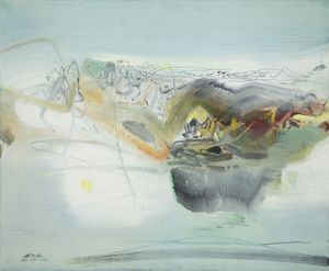 Chinese abstraction in Paris: Zao Wou-Ki, Chu Teh-Chun and Tang Haiwen