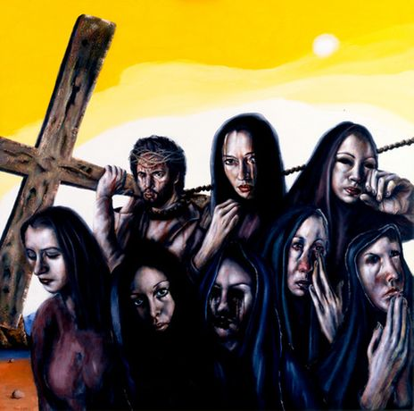 Chris Gollon: The Stations of The Cross commissioned by The Church of England: Image 0