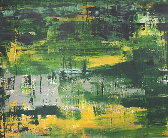 Chris Hunt, Abstract Paintings: Image 2